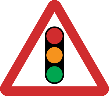 Traffic Signal road sign